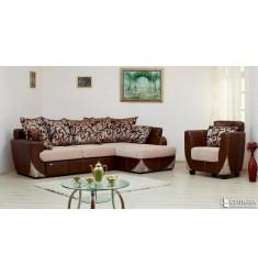 Угловой диван «Лондон» 1 (2Т-1ПФ)